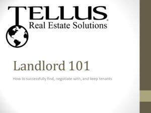 Landlord 101 slide