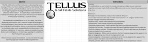 License and instructions for Rental property P&L spreadsheet