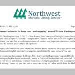 NWMLS Press Release July 2017